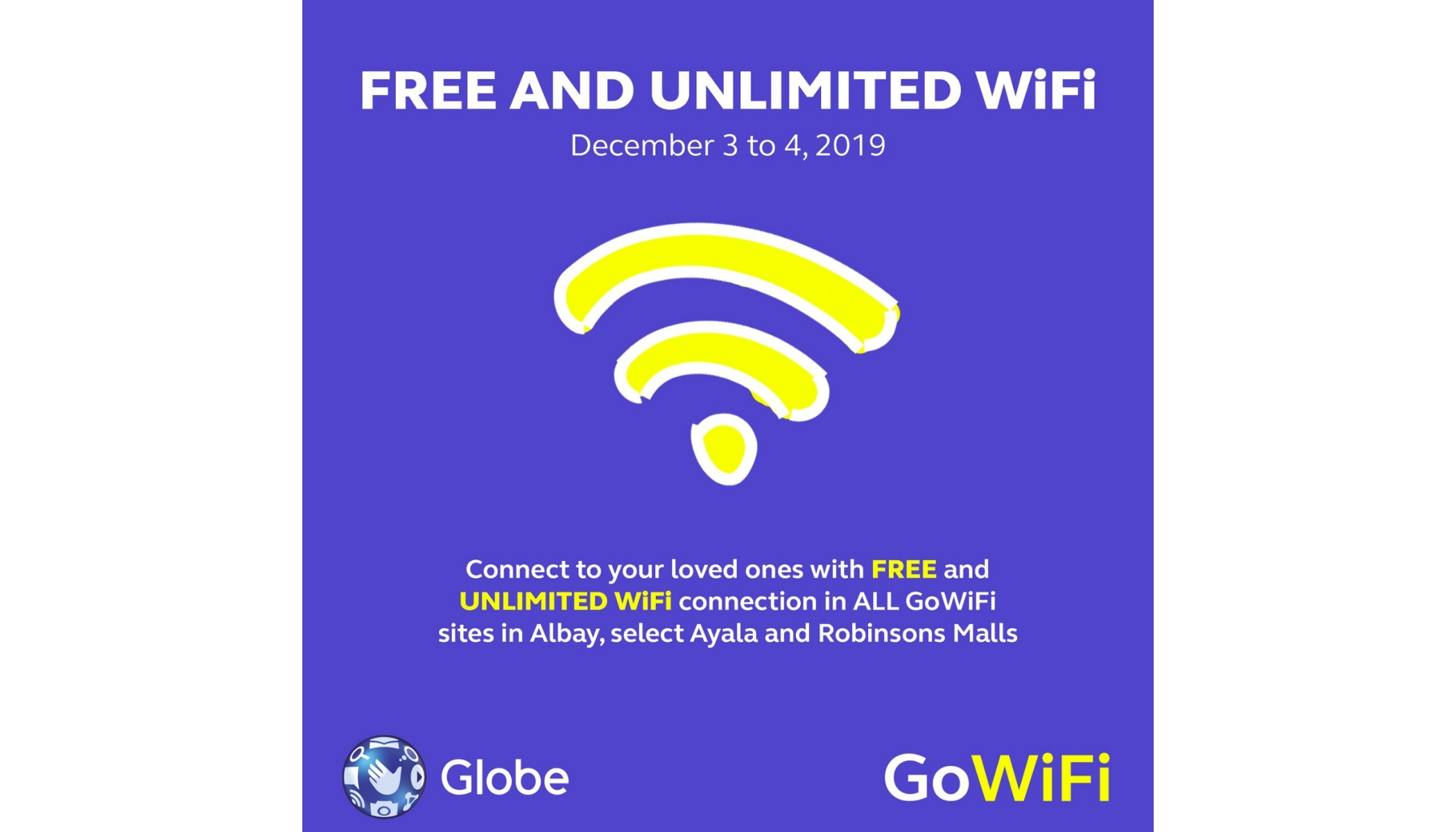 Globe to provide free unli Internet services in Typhoon ...